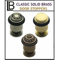 LB Brass - Classic Brass Door Stopper Collection