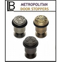 LB Brass - Classic Metropolitan Door Stopper Collection