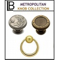 LB Brass - Classic Metropolitan Knob Collection