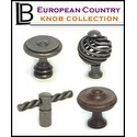 LB Brass - European Country Knob Collection