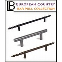 LB Brass - European Country Bar Pull Collection