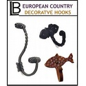 LB Brass - European Country Hook Collection