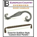 LB Brass - European Country Oversized Door Handles