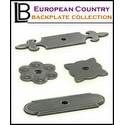 LB Brass - European Country Backplate Collection