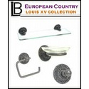 LB Brass - Bathroom Accessories Louis XV Collection